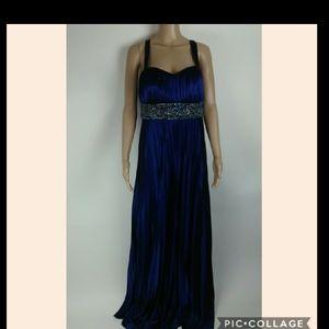 My Michelle blue prom dress size xl